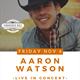 AARON WATSON Promotional Art