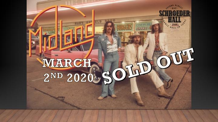 Midland sold out